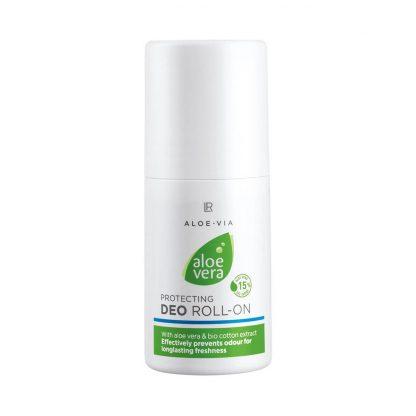 Aloë Vera Deo Roll-On Zachte en tegelijk zekere bescherming tegen lichaamsgeurtjes en zweet Biedt een aangenaam fris gevoel