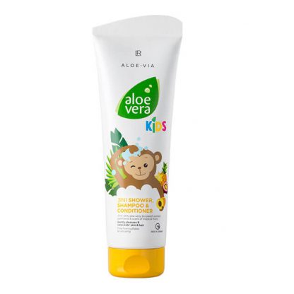 Aloe Vera Kids 3in1 douchegel, shampoo & conditioner