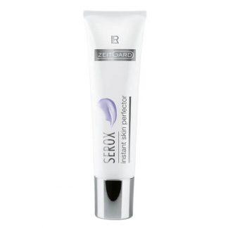 Serox Instant Skin Perfector Effecttechnologie met tweevoudig anti-age effect: Onmiddellijke perfectie optische verjonging van de huid in seconden Langdurige perfectie regeneratie van de huid van binnenuit