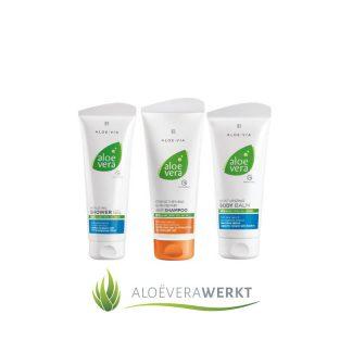 Body Care Set LR All-round verzorging voor een fluweelzachte huid ✅ Gratis verzending Een set die ideale lichaamsverzorging geeft.
