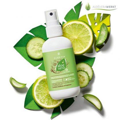 Aloe Vera Refreshing Lime Face & Body Spray