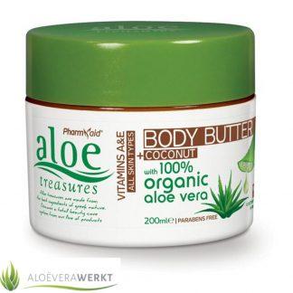 Aloe Treasures Bodybutter Kokosnoot