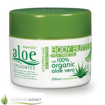 Aloe Treasures Bodybutter Tea Tree Oil